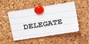 Правила делегирования – 6 основных принципов